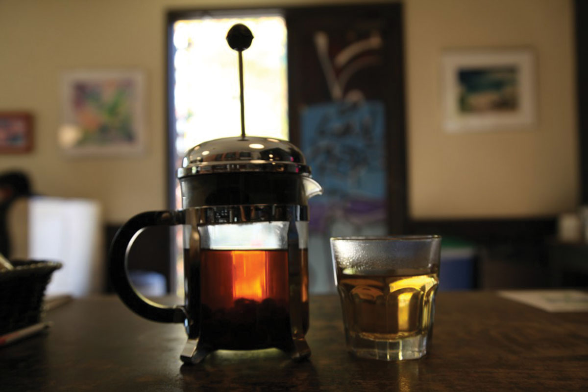 """Cascara can also be cold brewed and served as an iced tea—Verve Coffee  Roasters' website offers the following directions: """"Use six tablespoons of  tea for ..."""