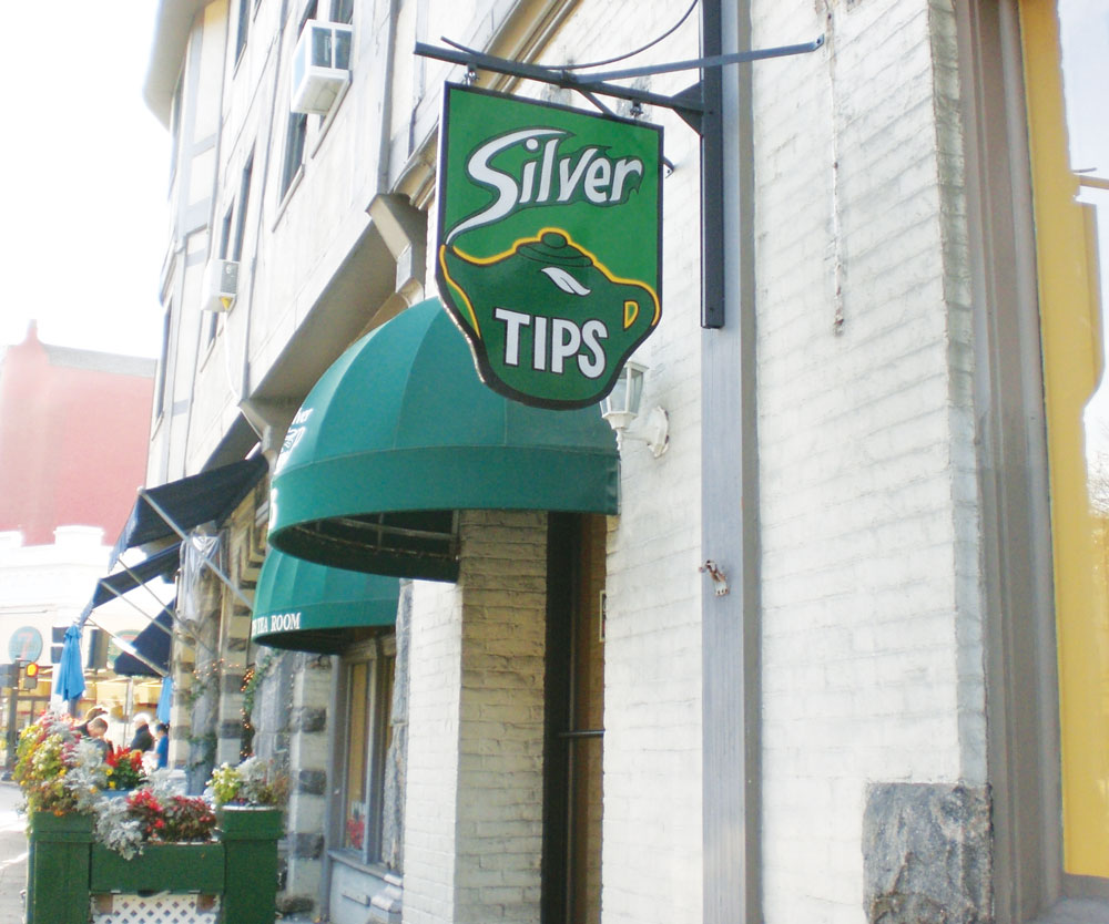 Mueller's Silver Tips Tearoom in Tarrytown, New York.