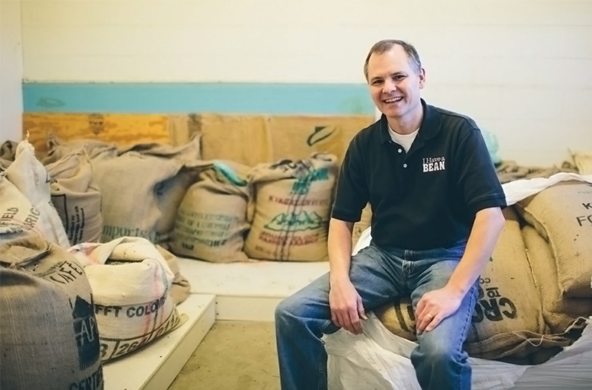 Pete Leonard, the owner of I Have a Bean. (Photo courtesy: I Have a Bean.)