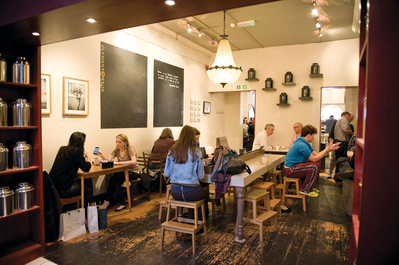 The interior of Clement & Pekoe. (Photo by Natalie Lim.)