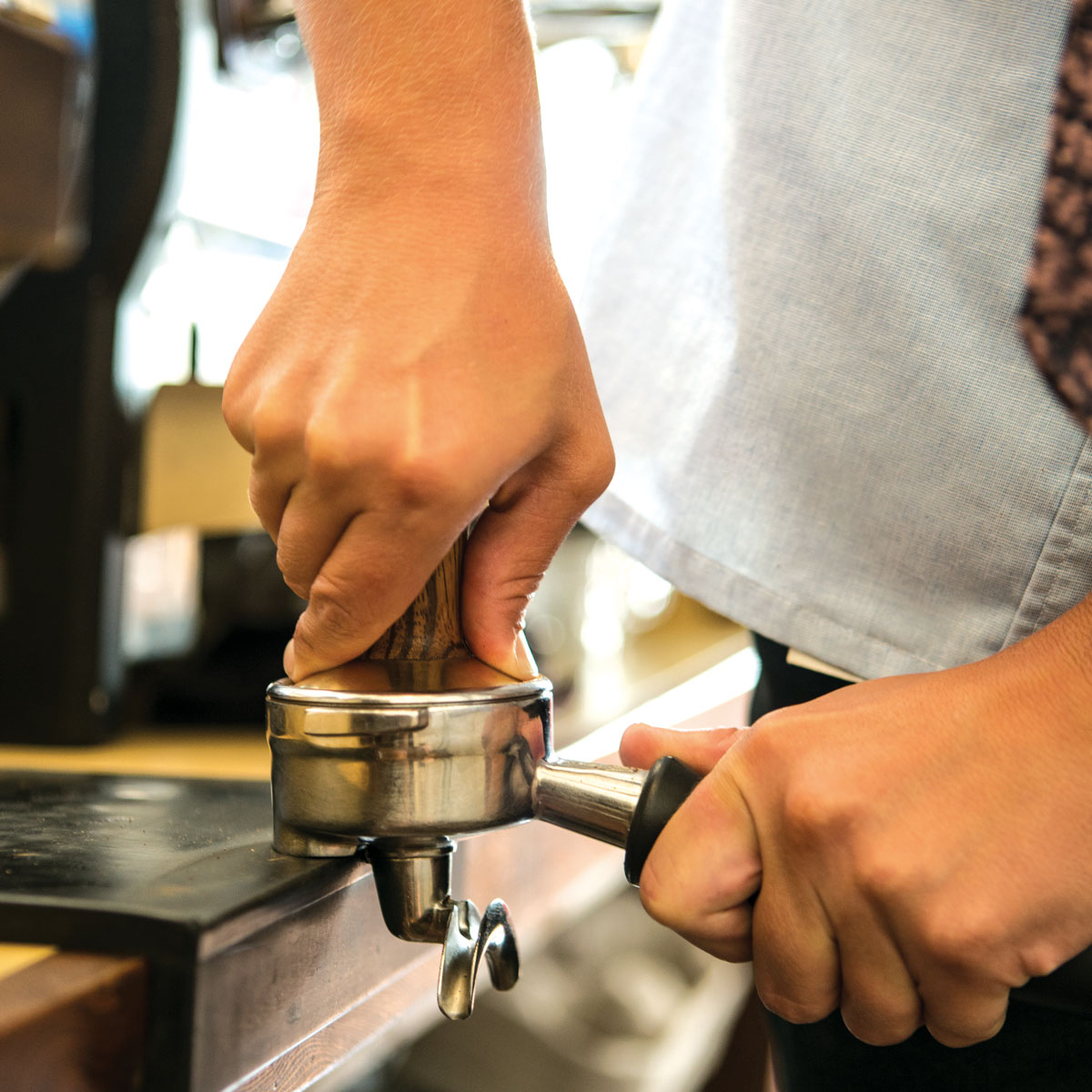 Tamping The Consistency Game Fresh Cup Magazine