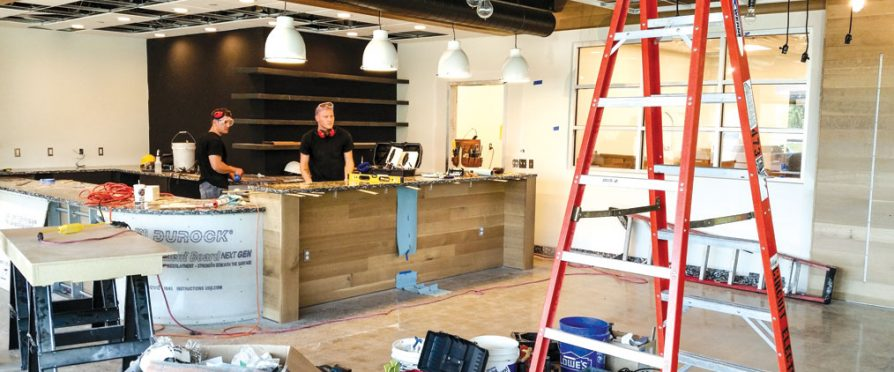 Remodeling Your Café
