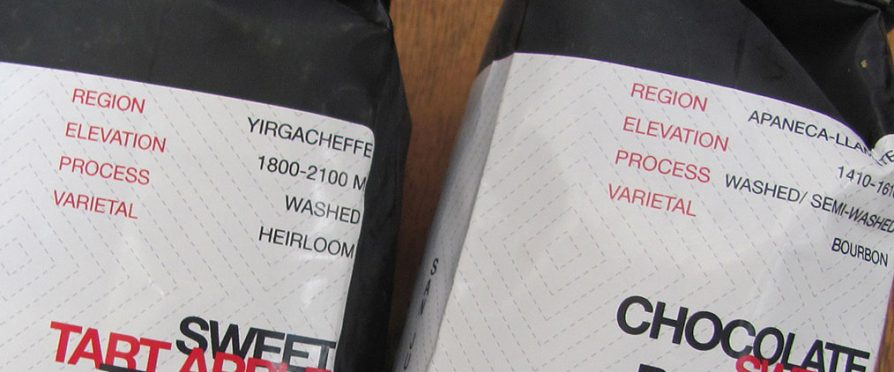 Coffee Labeling