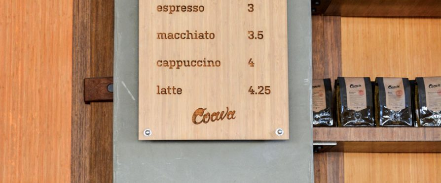 Menu Development: Coava Coffee