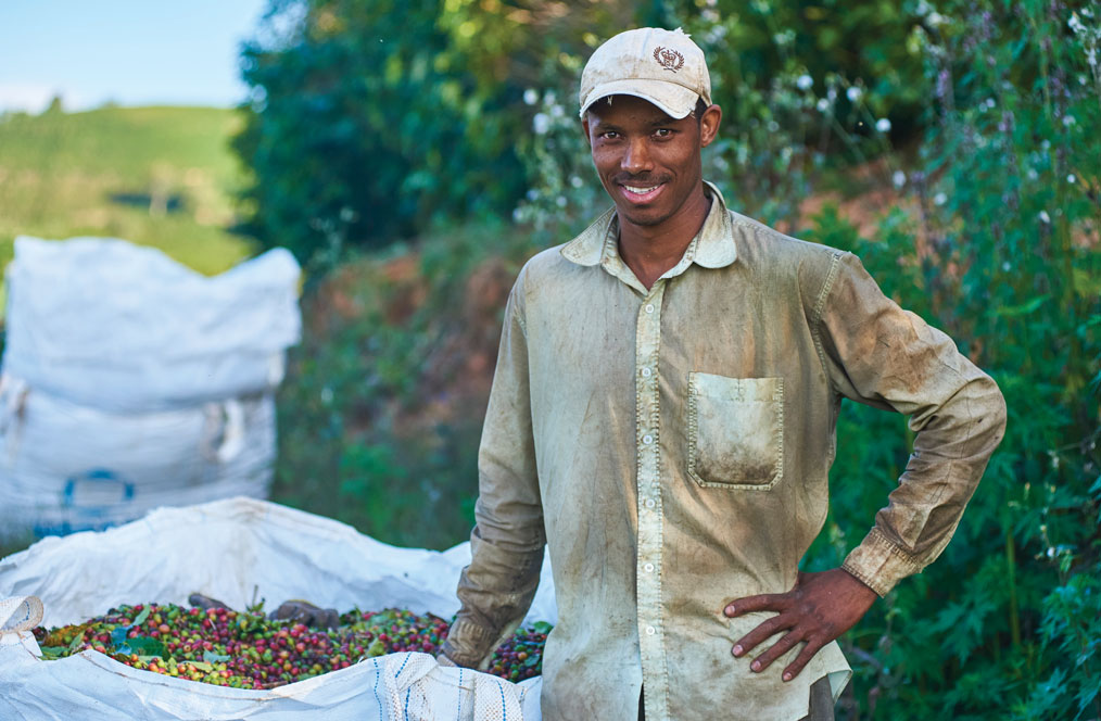 Renilson De Souza travelled 600 miles to work at Ponto Alegre in the southern portion of Minas Gerais in Brazil.