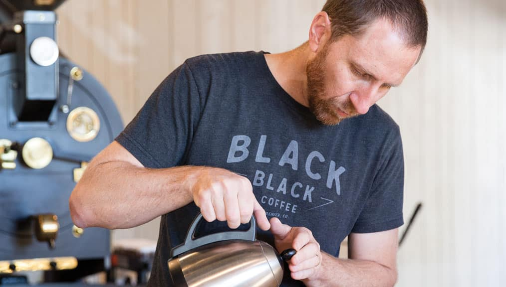 Andy Sprenger, Sweet Bloom Coffee Roasters.