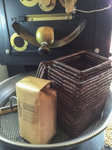 Rwanda - Roasting Coffee at Origin.