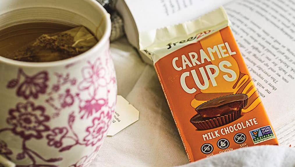 Free2B Caramel Cups Gluten-Free, Nut-Free Snack. Allergy-friendly snacks.