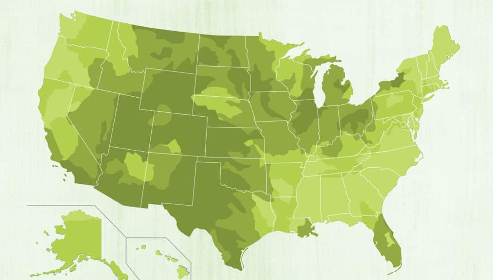 A Closer Look At Water For Tea Fresh Cup Magazine - Us water ppm map