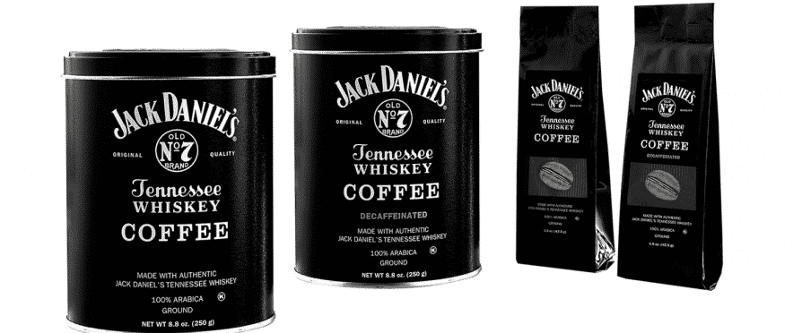 Jack Daniel's Coffee Whiskey-Infused Coffee.