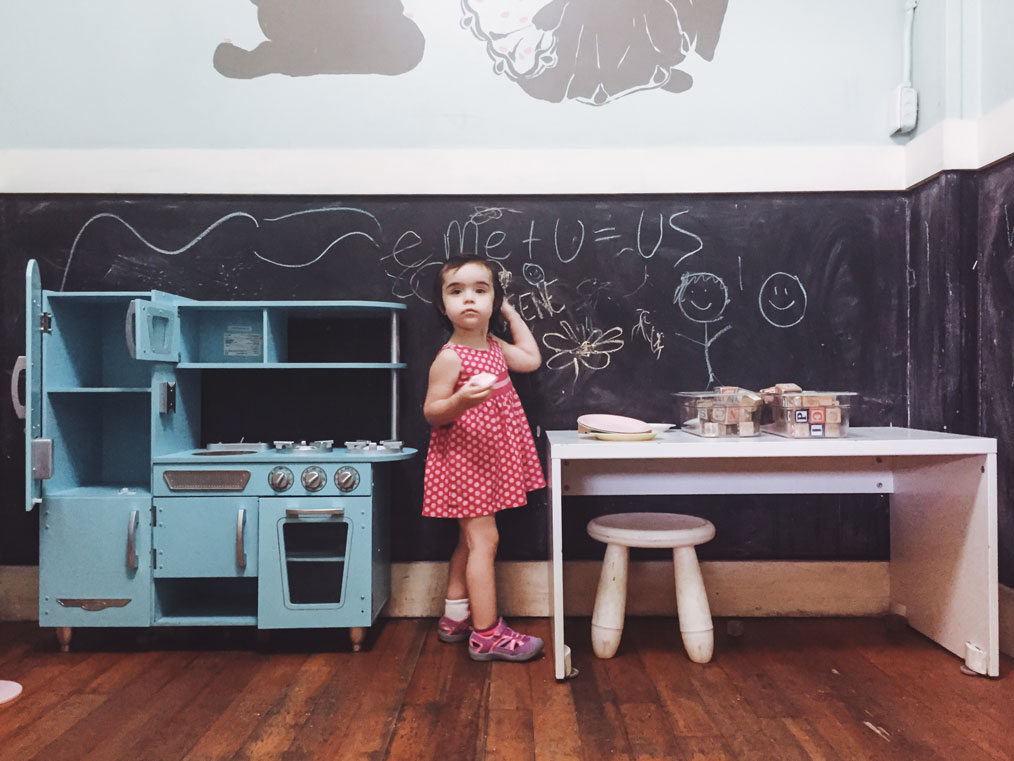 Kid-friendly cafés