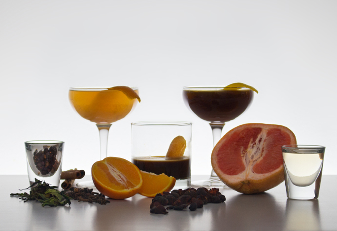 Coffee + Negronis for Negroni Week