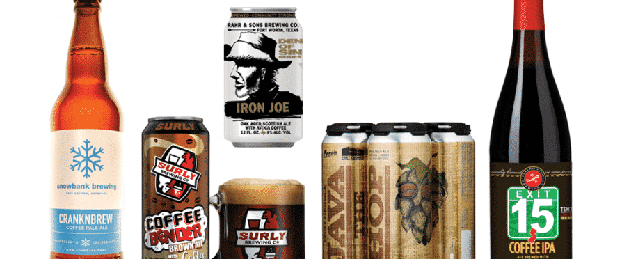 coffee-infused beer