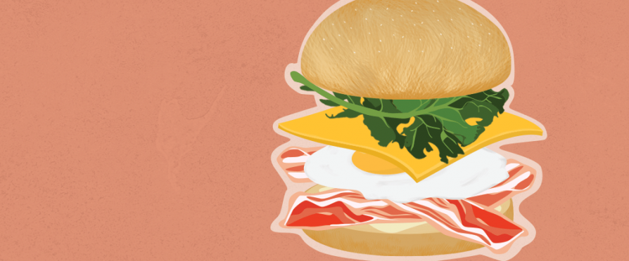 Anatomy of the Breakfast Sandwich