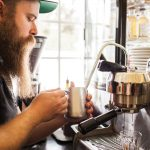 Bearded House Coffee Barista, photo by Artemis Photography