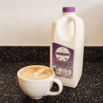 Bearded Heart Coffee Goats Milk Latte, photo by Artemis Photography