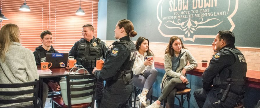 Coffee with a Cop Unites Community