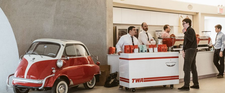 TWA Hotel Drenched in Intelligentsia