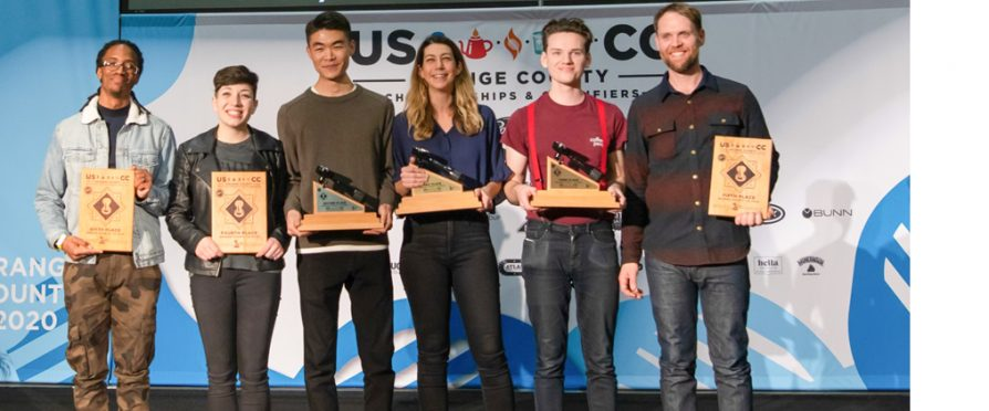 U.S. Coffee Championships Orange County Results